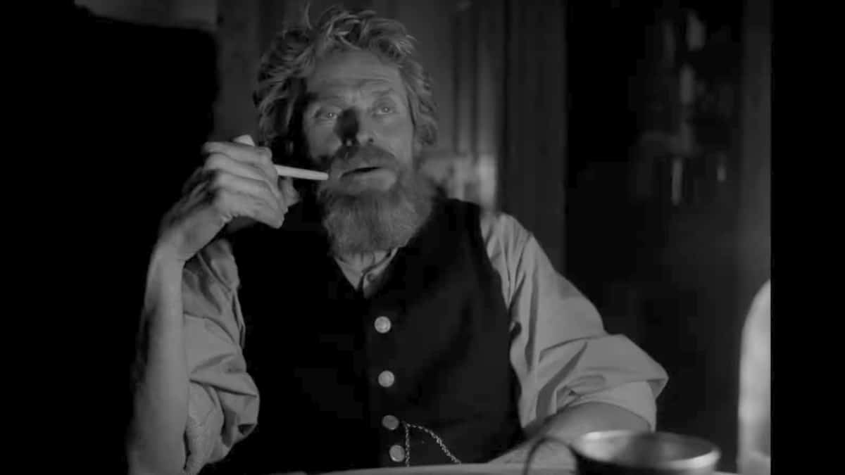 Willem Dafoe in The Lighthouse trailer