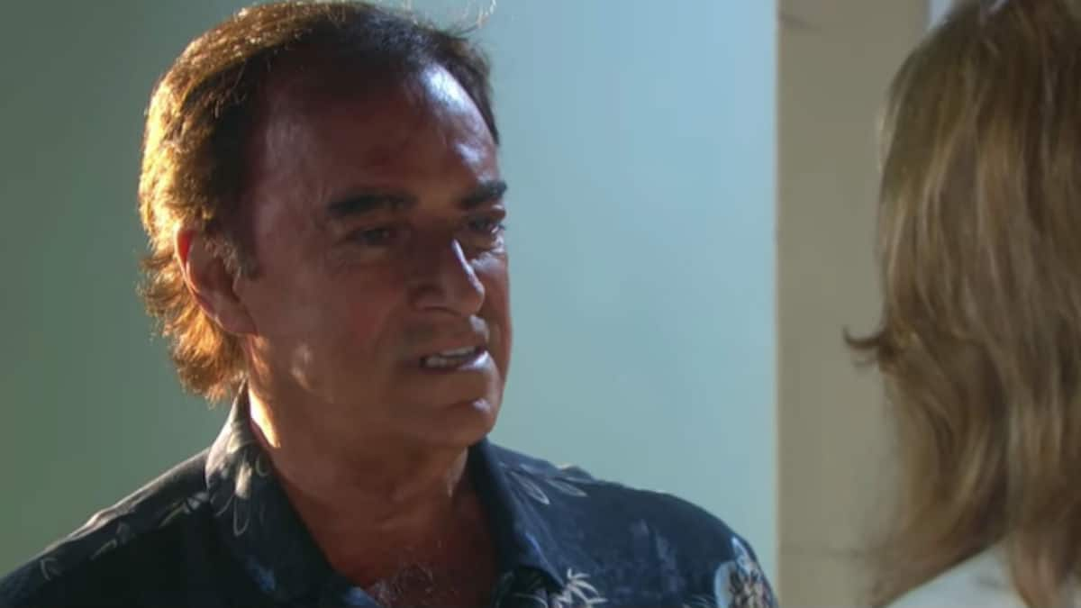 Thaao Penghlis as Tony DiMera on Days of our Lives.