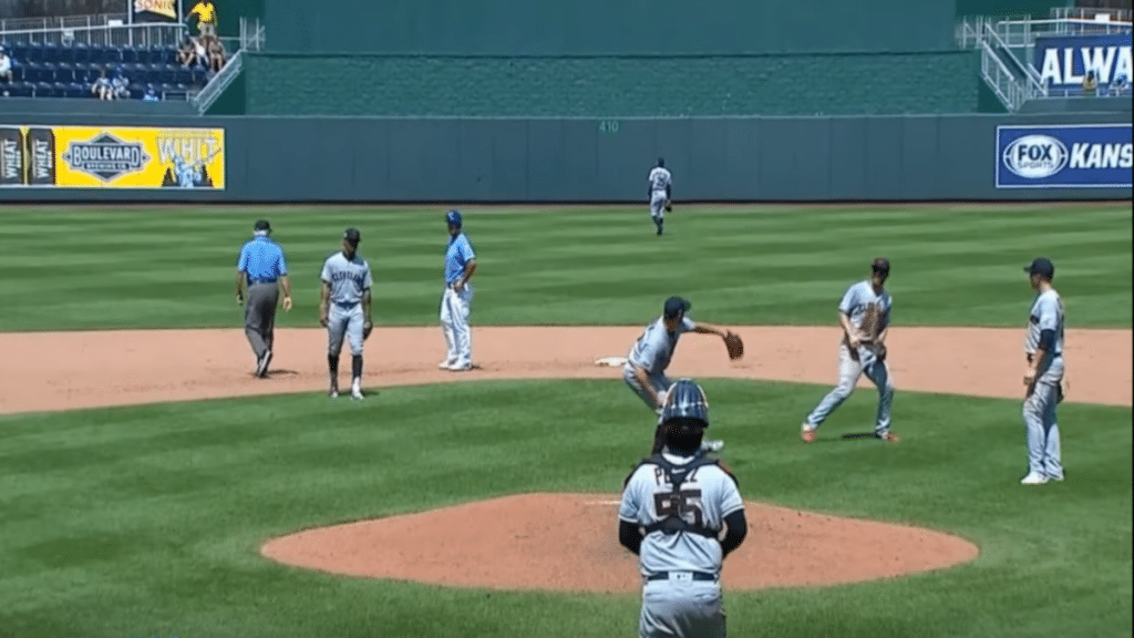 Trevor Bauer throw video: Terry Francona upset as Indians pitcher heaves ball over wall in frustration during Royals game