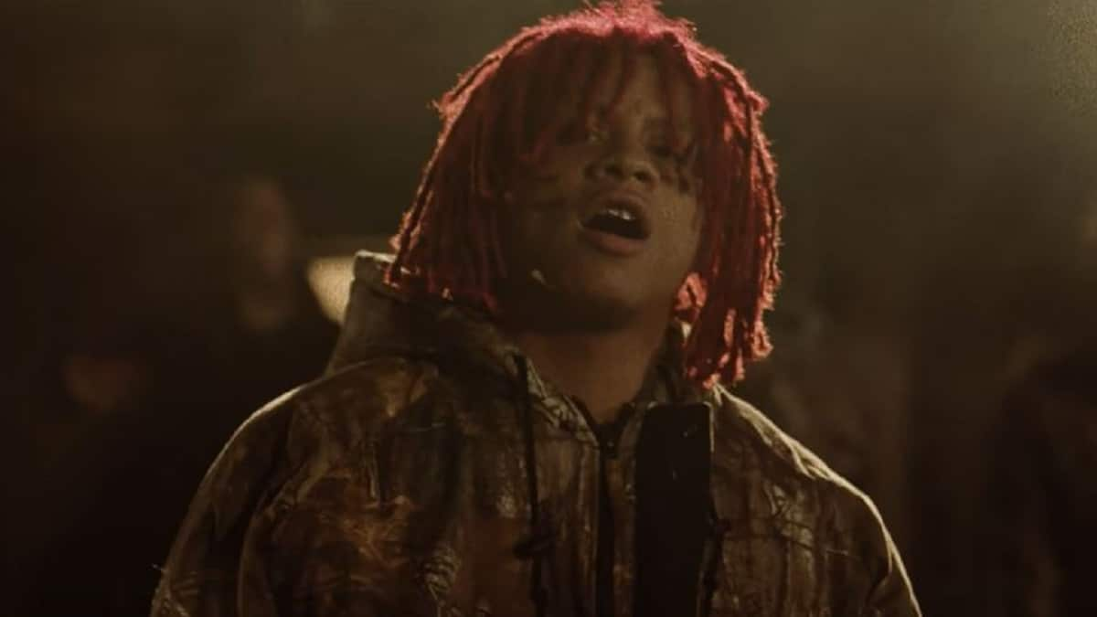 Rapper Trippie Redd (Michael Lamar White IV)