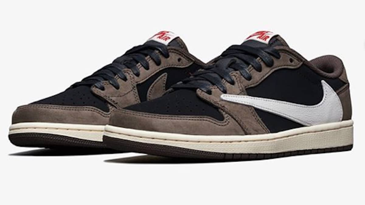 on sale dbe2a b38b4 Air Jordan 1 Low OG Cactus Jack: Photos of Travis Scott's ...
