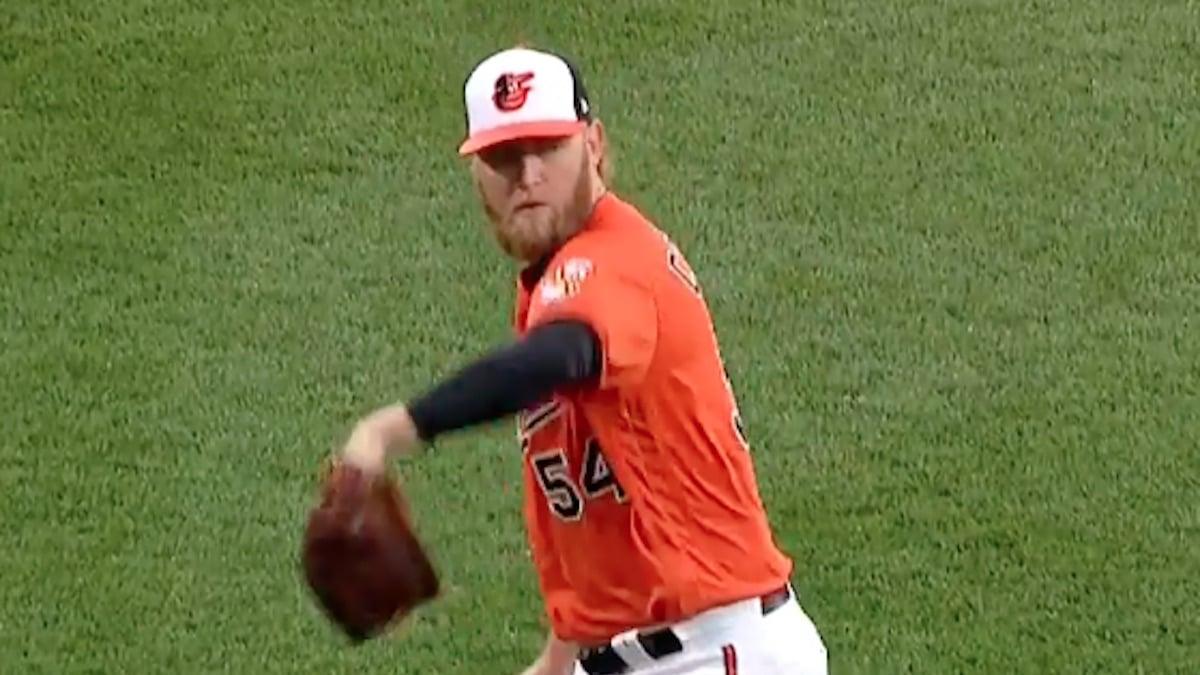 former baltimore orioles pitcher andrew cashner