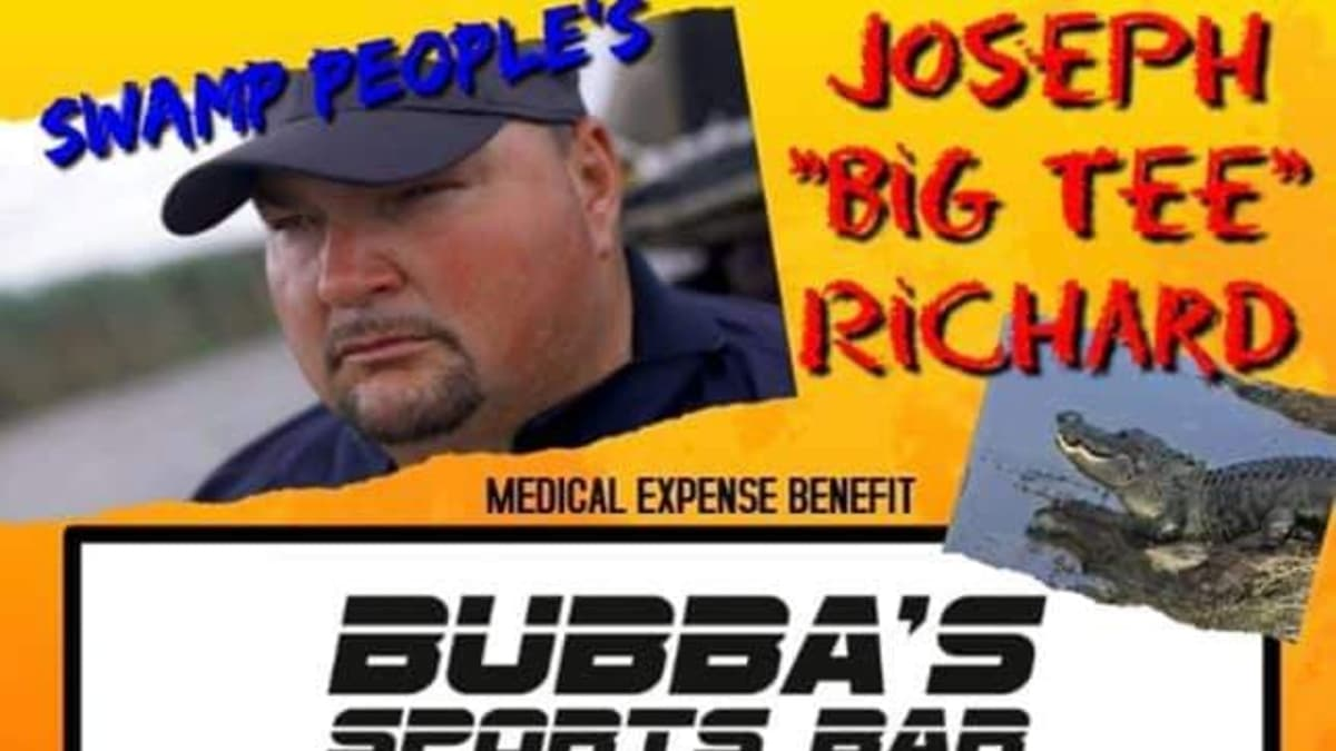 Big Tee sent us the flier ahead of his exclusive interview with Monsters & Critics. Pic credit; Bubba's Sports Bar/Big Tee