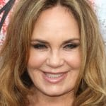 Catherine Bach at an event.