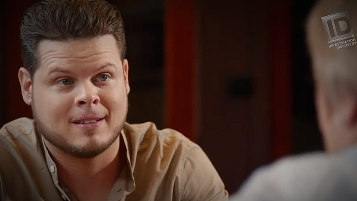 Derrick Levasseur is one of ID's most highly trained TV stars. Pic credit: ID