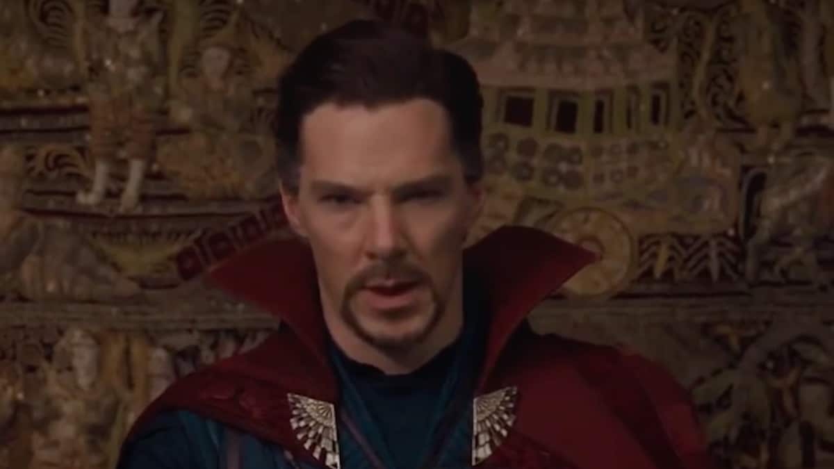 Benedict Cumberbatch as marvel superhero Doctor Strange