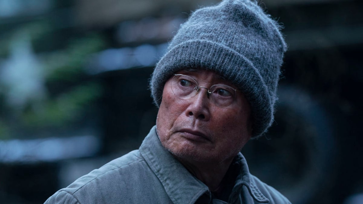 George Takei plays Yamato-San, a wizened elder who tries to convince Chester the Japanese spirit world is strong and exists among them