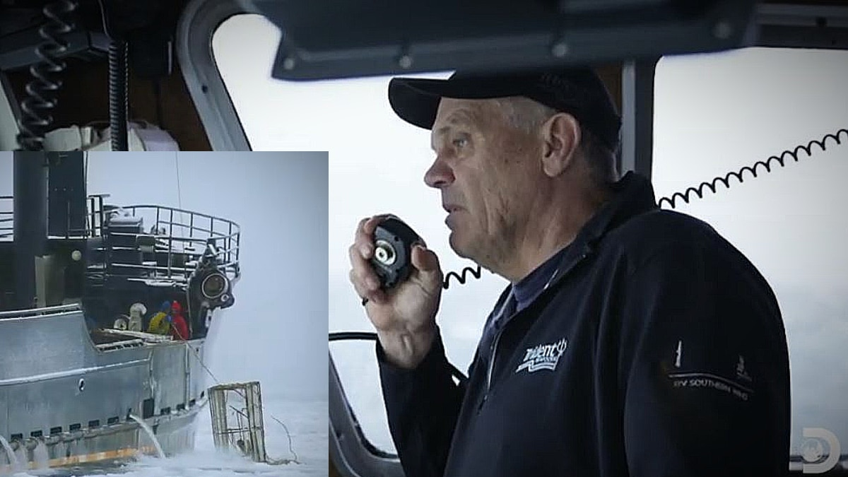 hrley 150x150 - Deadliest Catch exclusive: Southern Wind jammed in the ice hoping for crab miracle