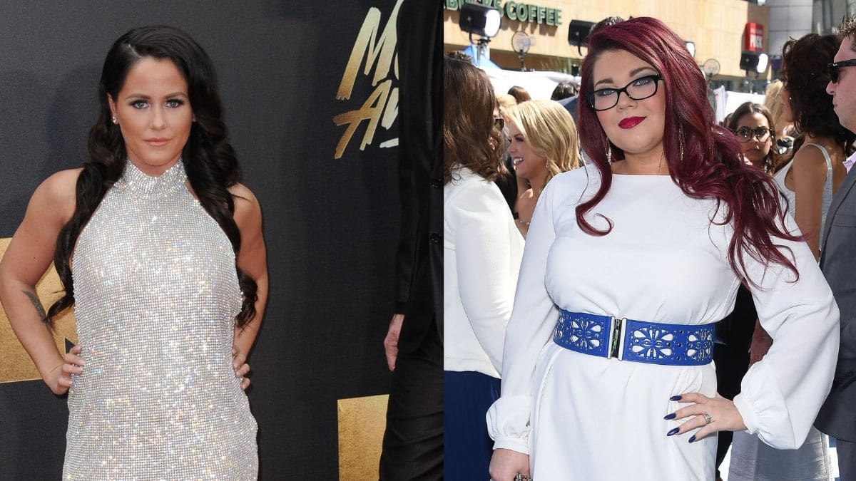Jenelle Evans and Amber Portwood