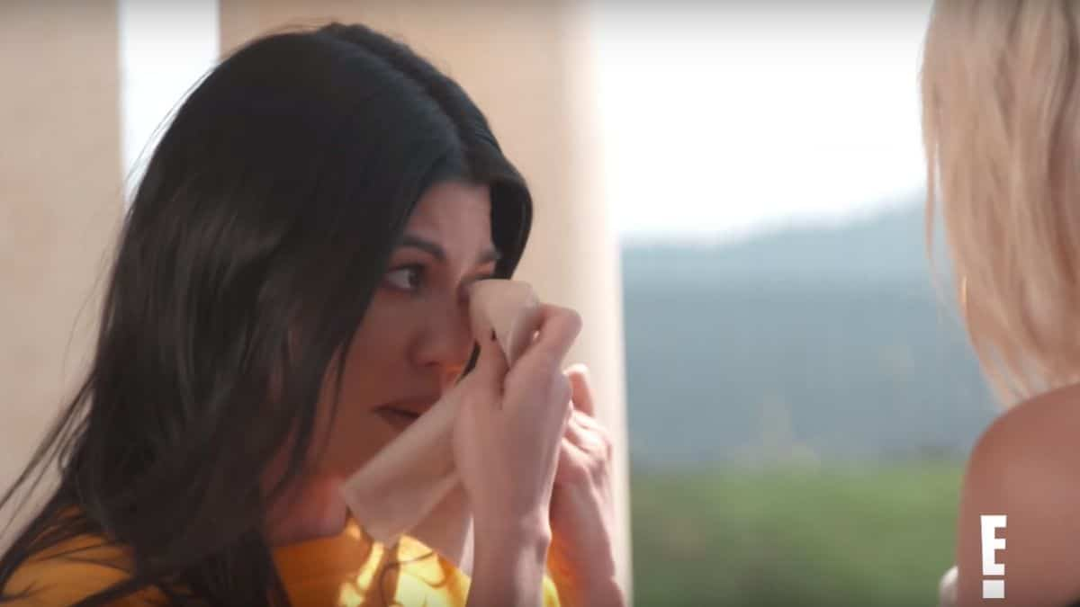 Kourtney Kardashian gets emotional in new KUWTK sneak peek