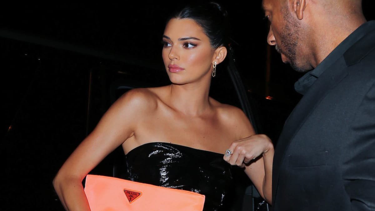 model and reality tv star kendall jenner