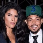 kirsten corley with her husband chance the rapper