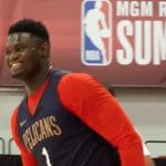 zion williamson makes his nba summer league debut with the pelicans in las vegas