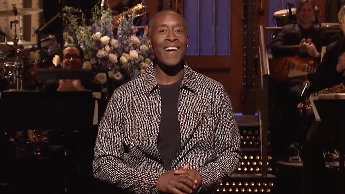 actor don cheadle hosting saturday night live