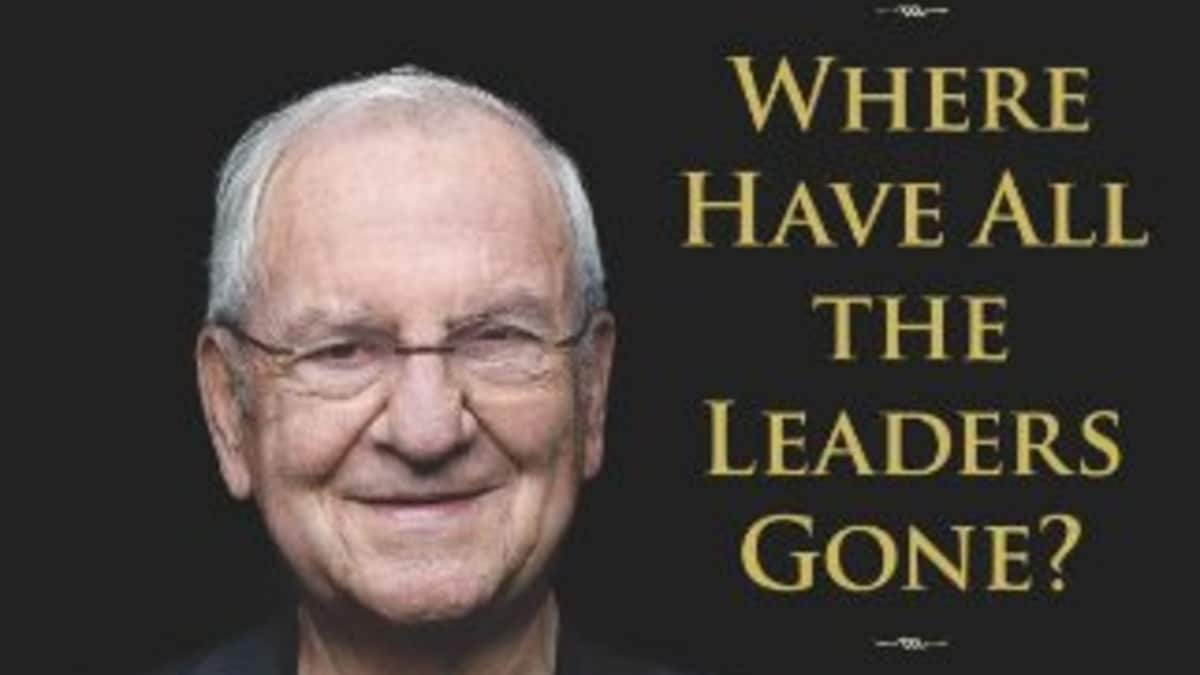 Where Have All the Leaders Gone? book cover of Lee Iaccoca. Pic credit: Scribner