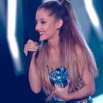ariana grande appears at mtv video music awards
