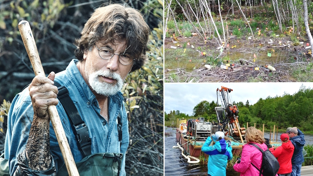 Rick Lagina on The Curse of Oak Island and photos of the swamp during the 2019 treasure hunt