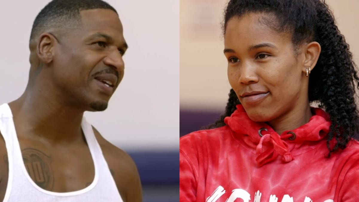 Stevie J and Ty take their issues to the basketball court