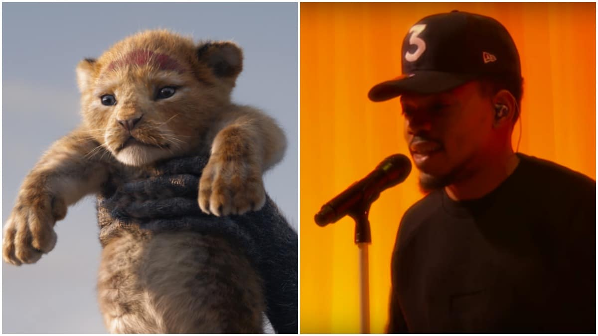The Bush Baby In The Lion King Is Voiced By Chance The Rapper