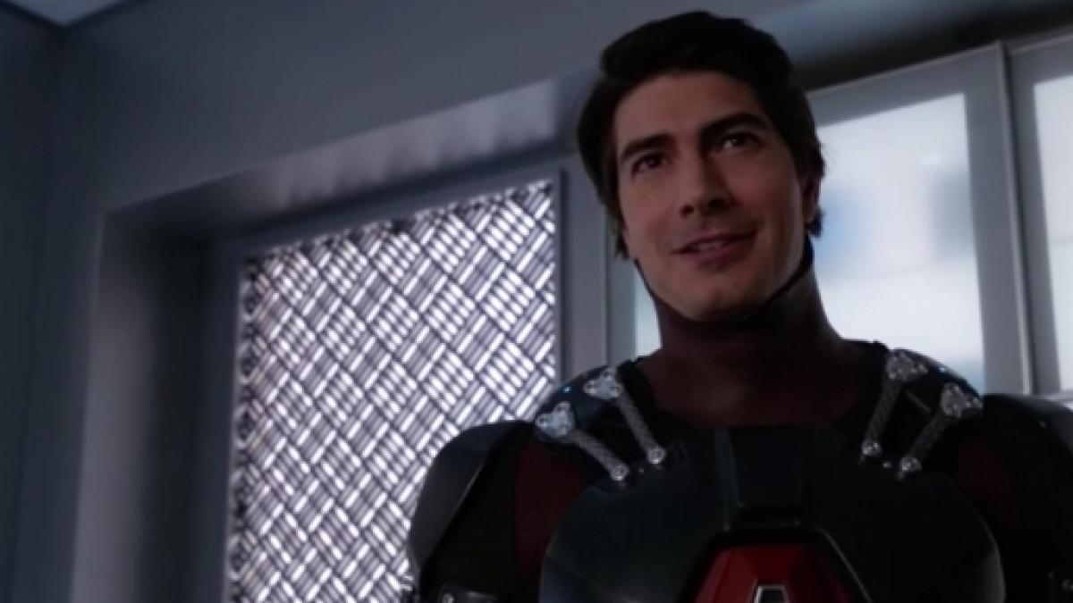 Brandon Routh as Ray Palmer/The Atom on Legends of Tomorrow.