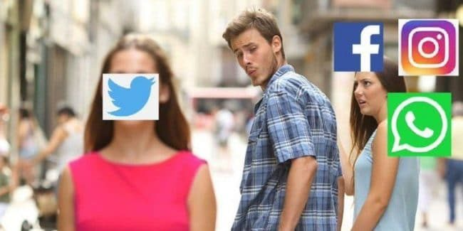 Social media meme