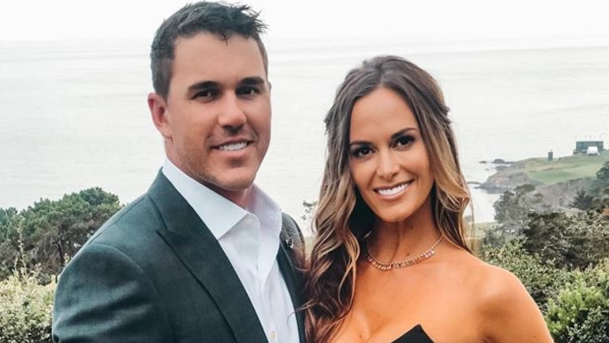brooks koepka and jena sims together