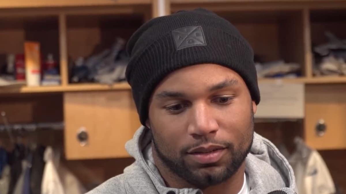 nfl receiver golden tate speaks to the media