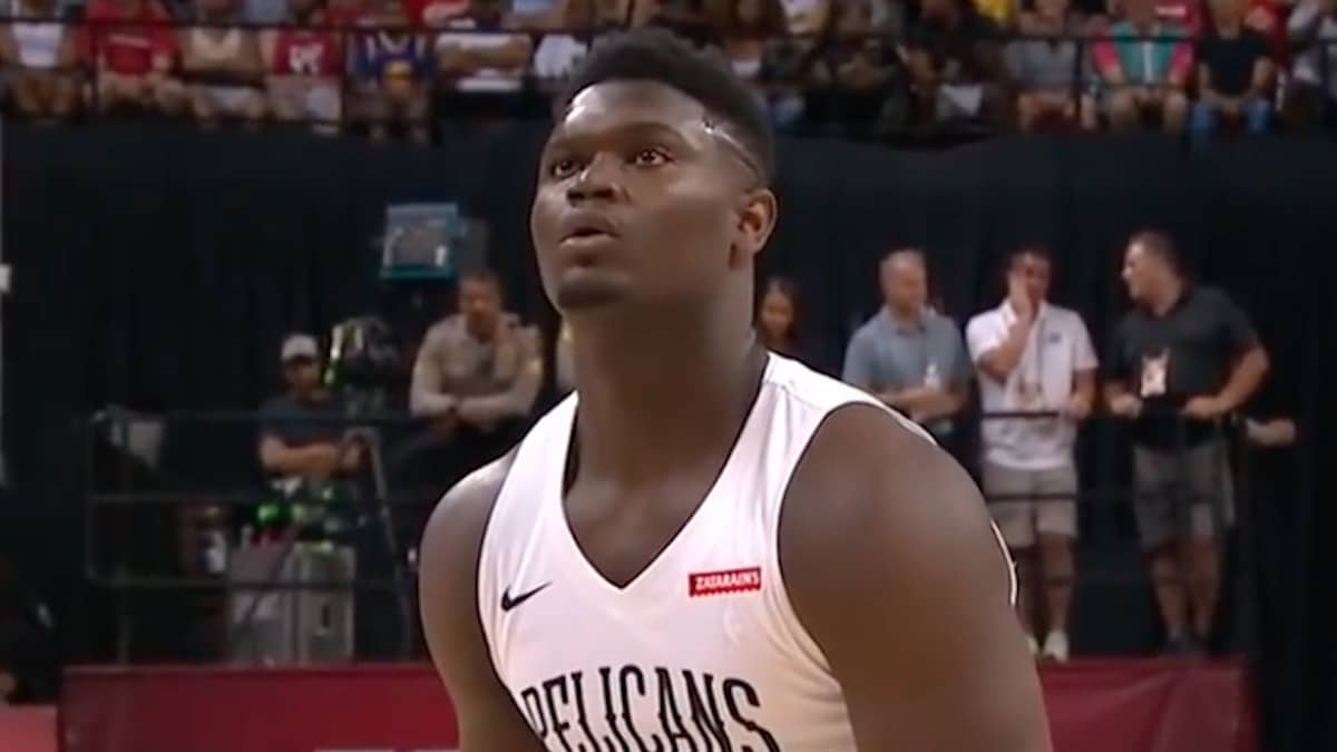 zion williamson has signed with nike jordan brand