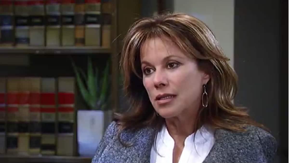 Nancy Lee Grahn as Alexis on General Hospital.