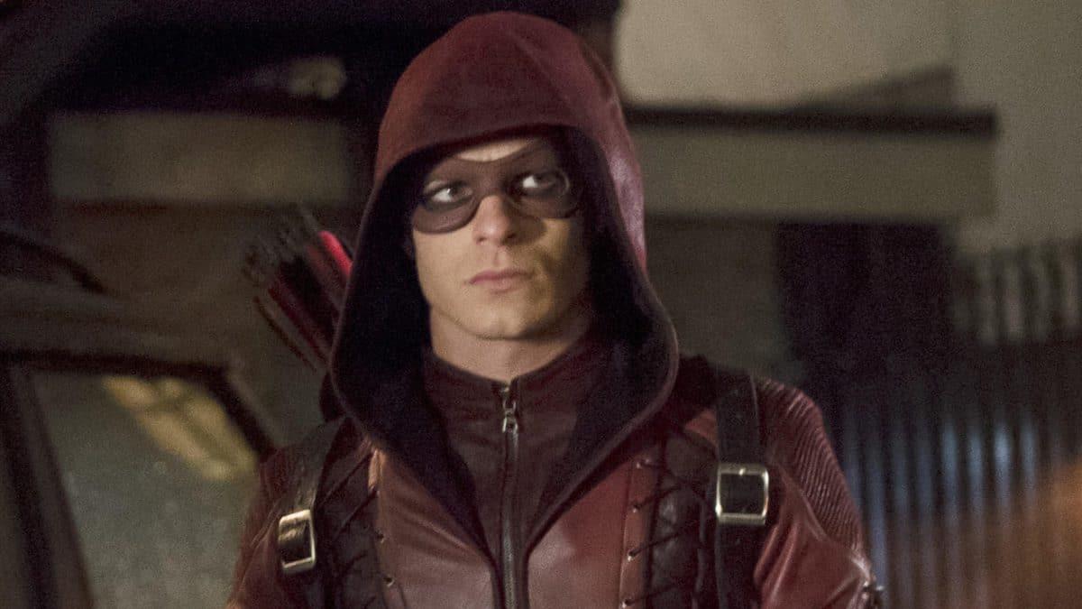 Colton Haynes as Roy Harper on Arrow.