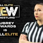 Aubrey Edwards becomes first female to referee men's world title match at AEW All Out wrestling PPV