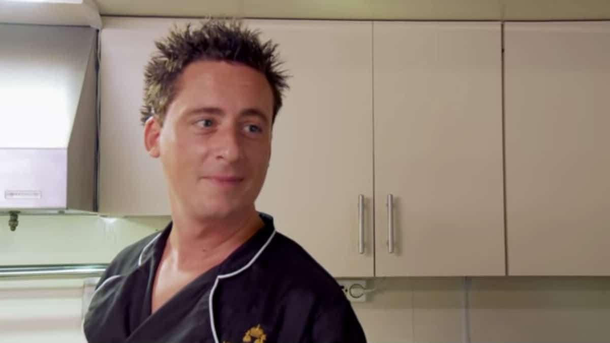 Chef Ben Robinson on Below Deck Med.
