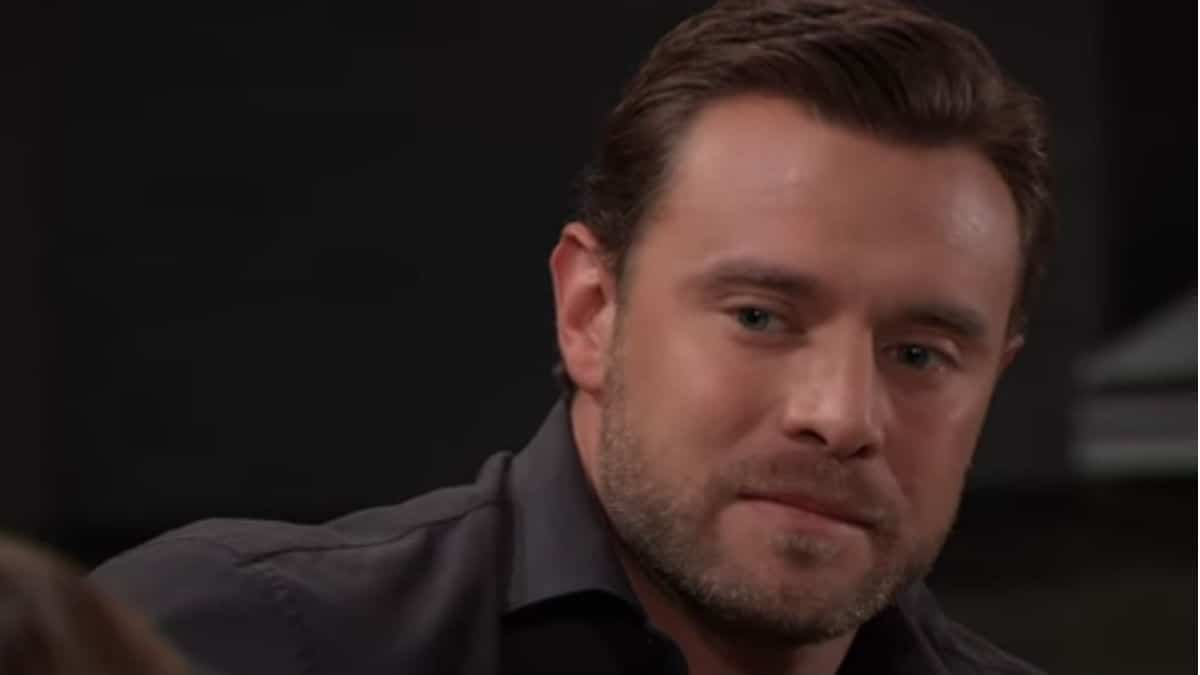 Billy Miller as Drew Cain on General Hospital.