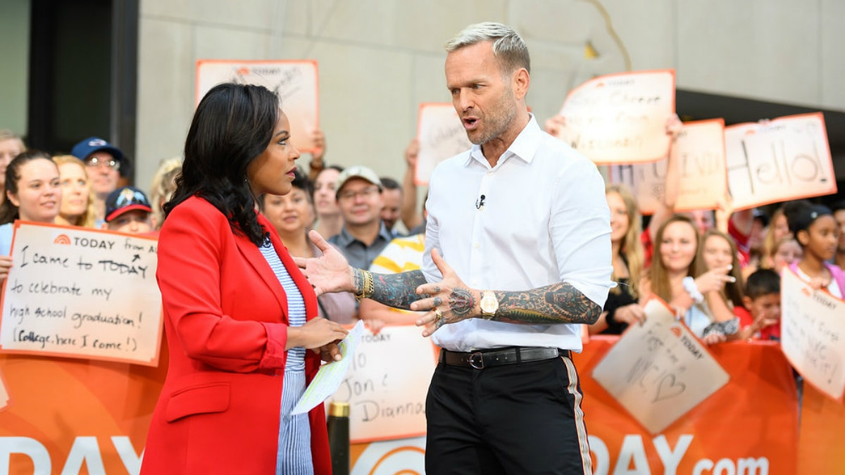 Sheinelle Jones and Bob Harper on Today
