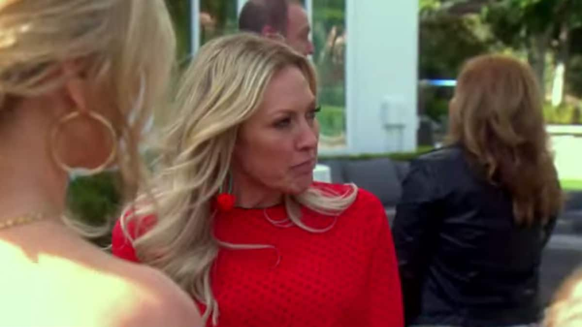 Braunwyn Windham-Burke on The Real Housewives of Orange County.