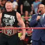 Paul Heyman makes surprising announcement about Brock Lesnar WWE future