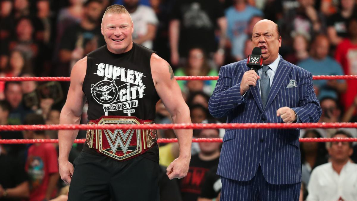 Paul Heyman makes surprising announcement about Brock Lesnar WWE future