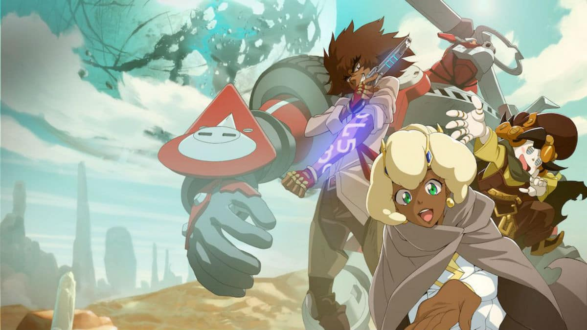 Cannon Busters Season 2 release date Netflix anime an original story by black American LeSean Thomas
