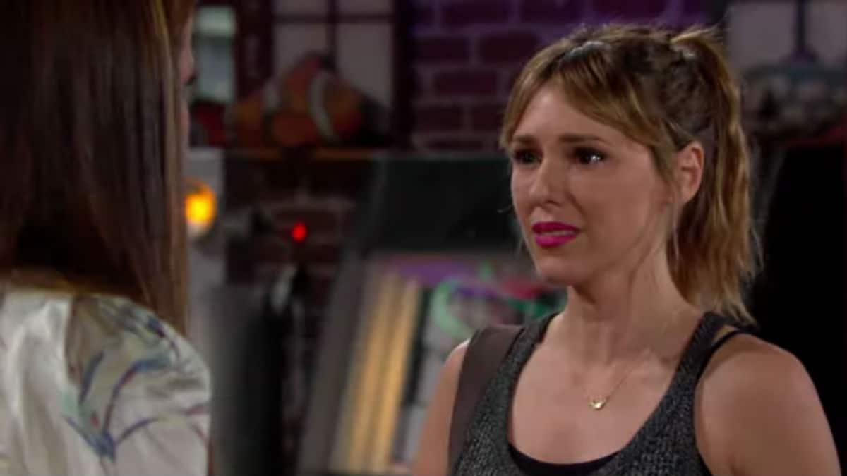 Elizabeth Hendrickson as Chloe on The Young and the Restless.