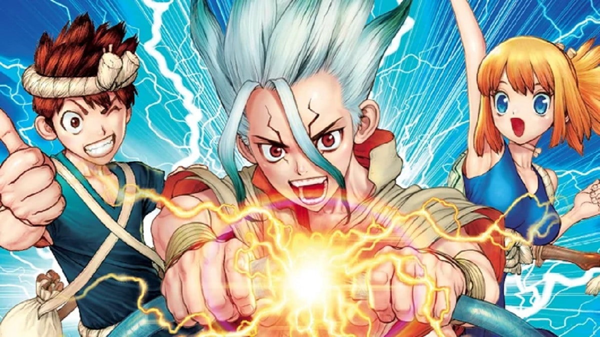 New Dr. Stone promo from Toonami