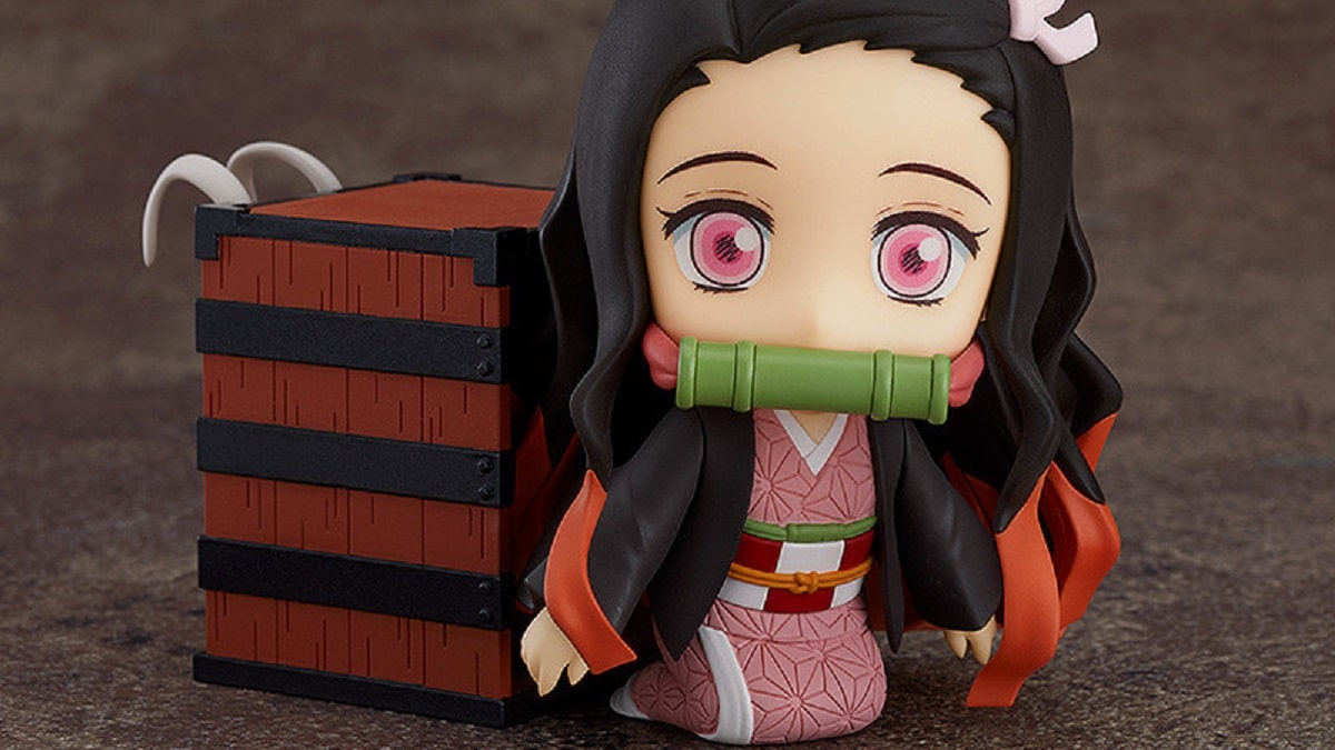 Good Smile Company's Nezuko Kamado Nendoroid. Pic credit: Good Smile Company.
