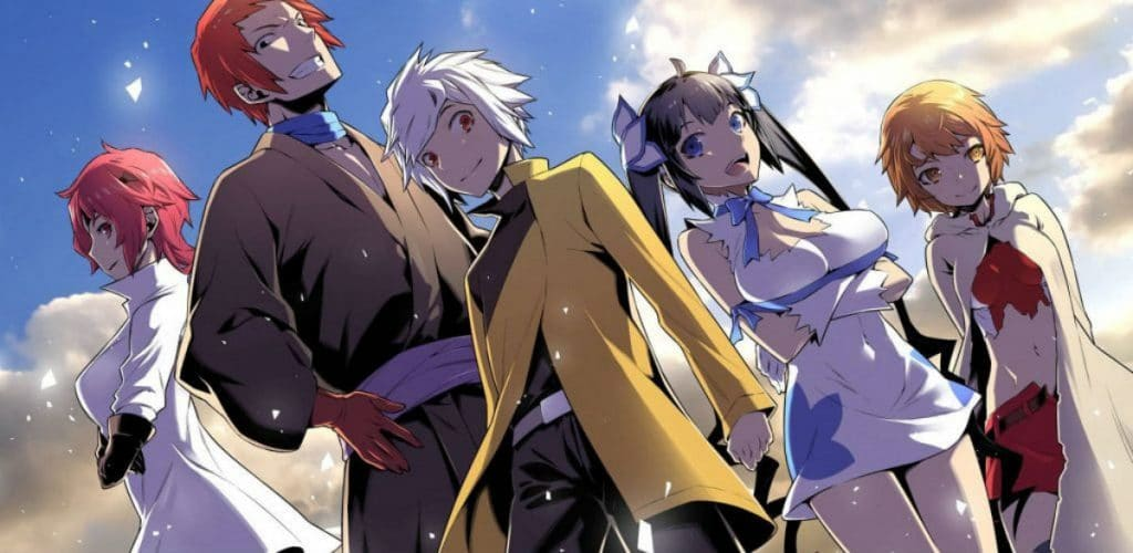 DanMachi Light Light Novel Character Art Is It Wrong To Try To Pick Up Girls In A Dungeon