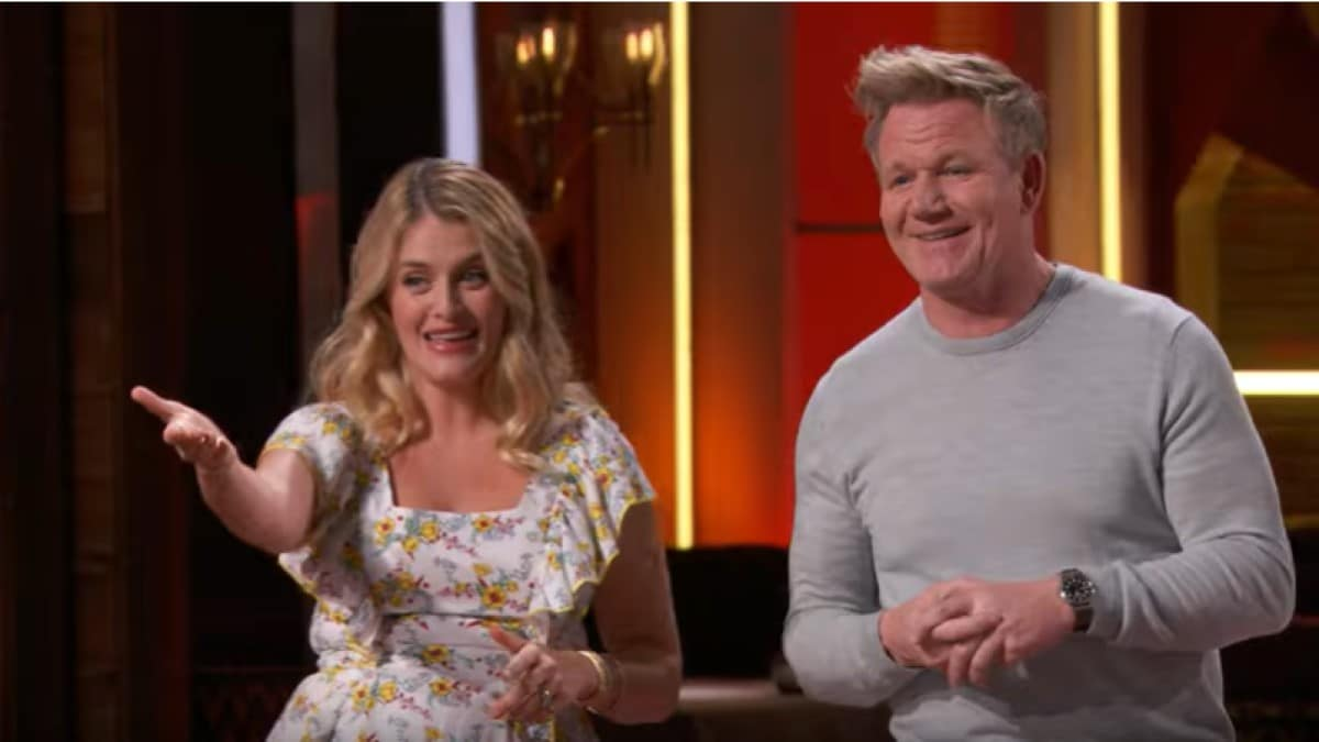 Daphne Oz And Gordon Ramsay