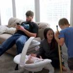 David Eason and family