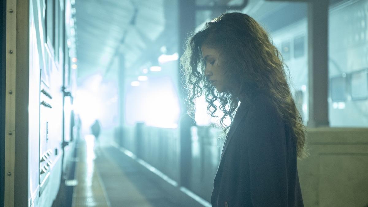Zendaya as Rue in Euphoria finale