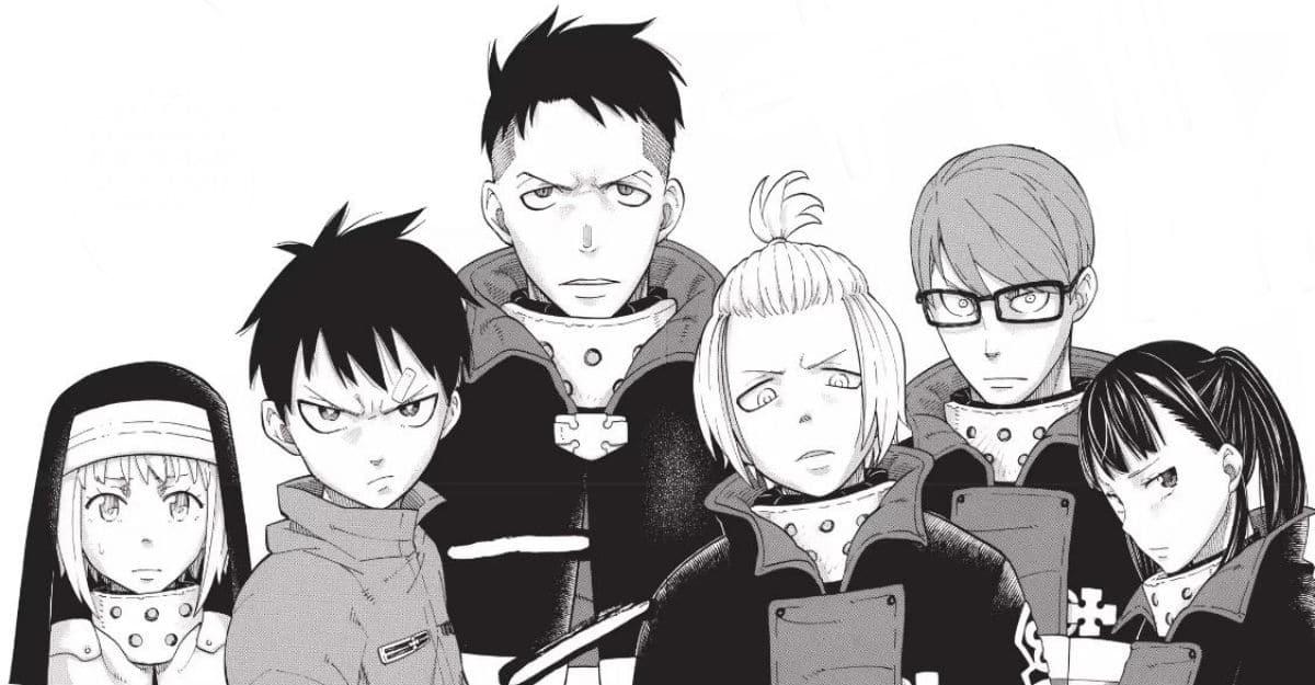 Fire Force Manga Characters Company 8