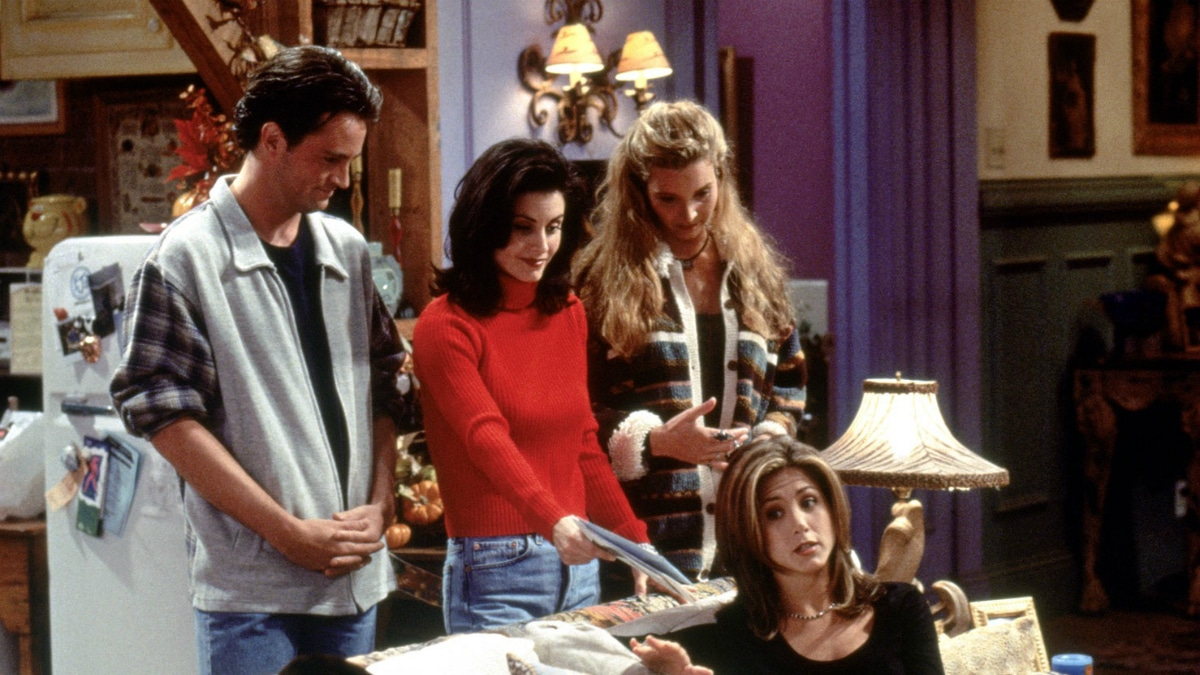 Matthew Perry, Courteney Cox, Lisa Kudrow and Jennifer Aniston.