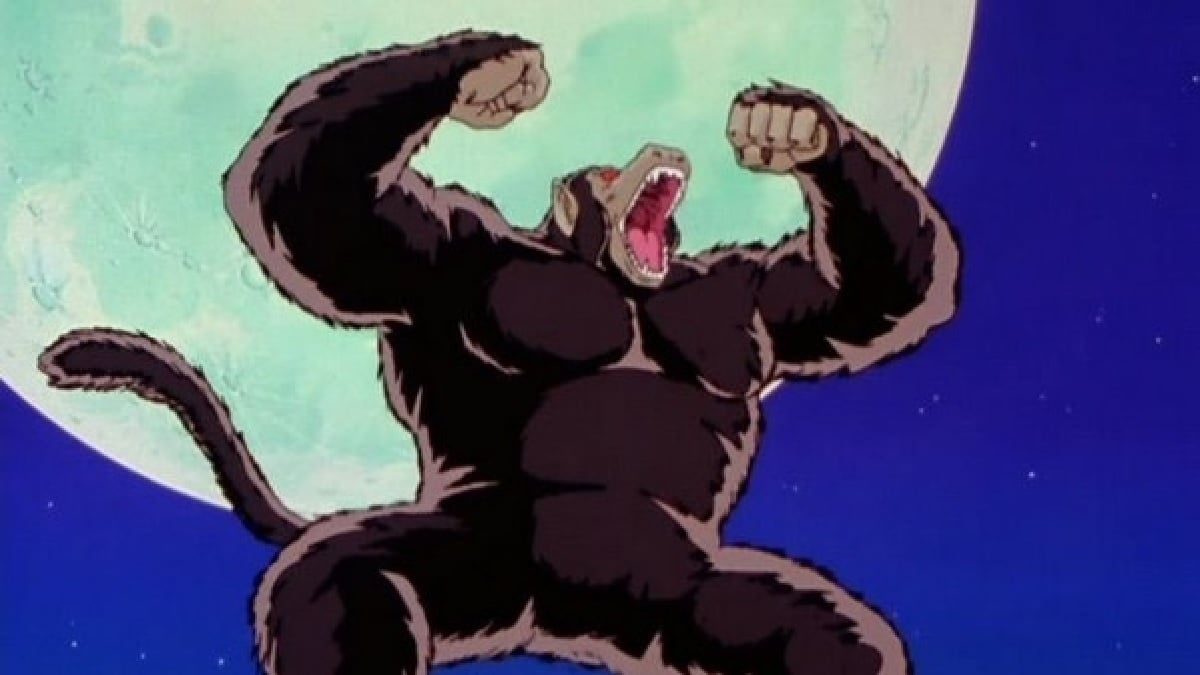 Goku in Giant Ape form. Photo cred: Quora