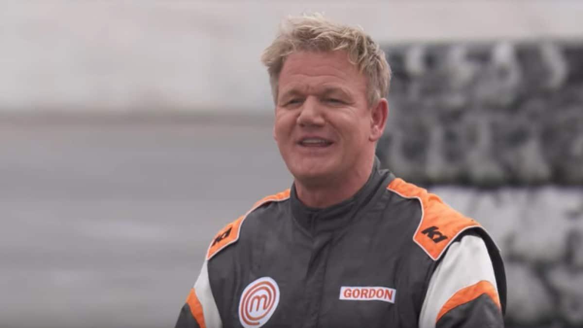 Gordon Ramsay Race Car Suit