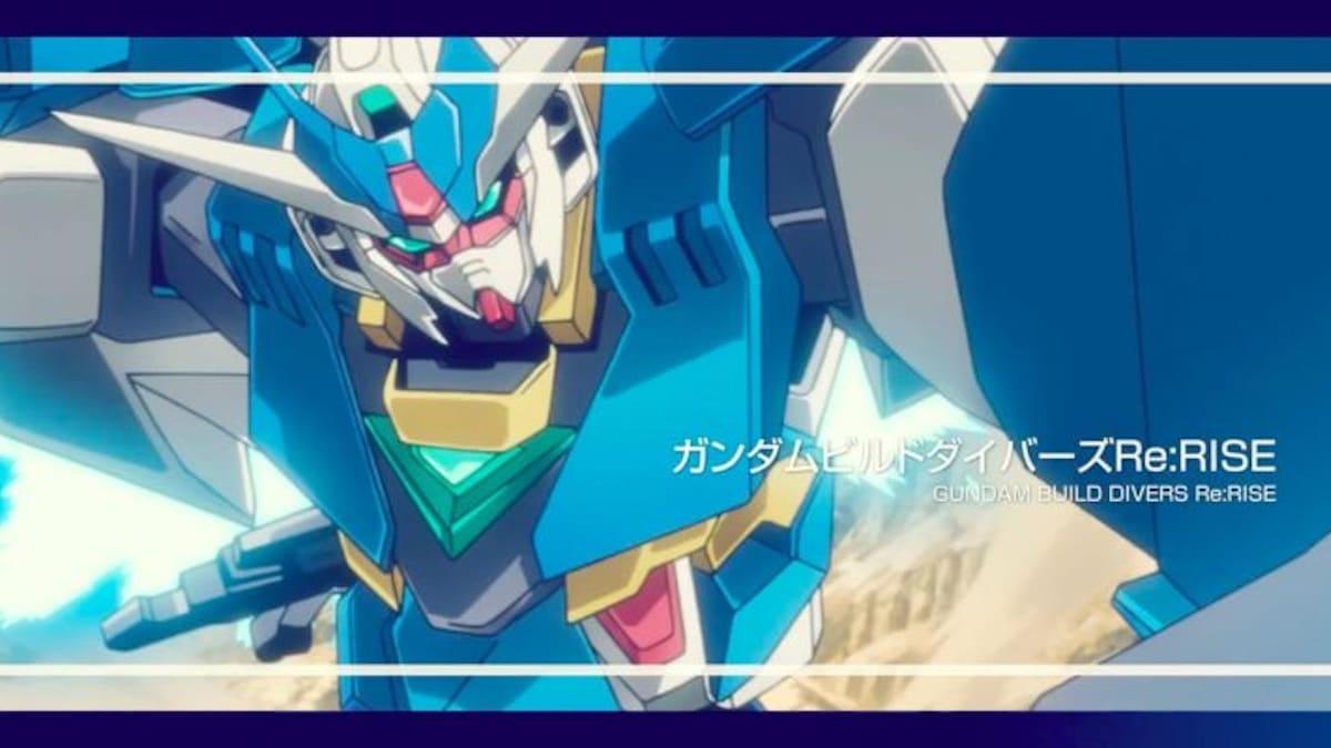 First Gundam Build Divers RE:Rise trailer, details, and Gunpla kit